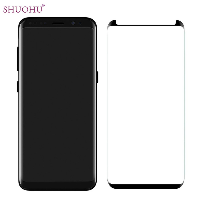 samsung s8 plus case friendly screen protector