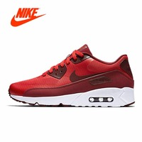 Official Original NIKE AIR MAX 90 ULTRA 2.0 men's breathable running shoes limited color classic outdoor nike shoes Leisure Good