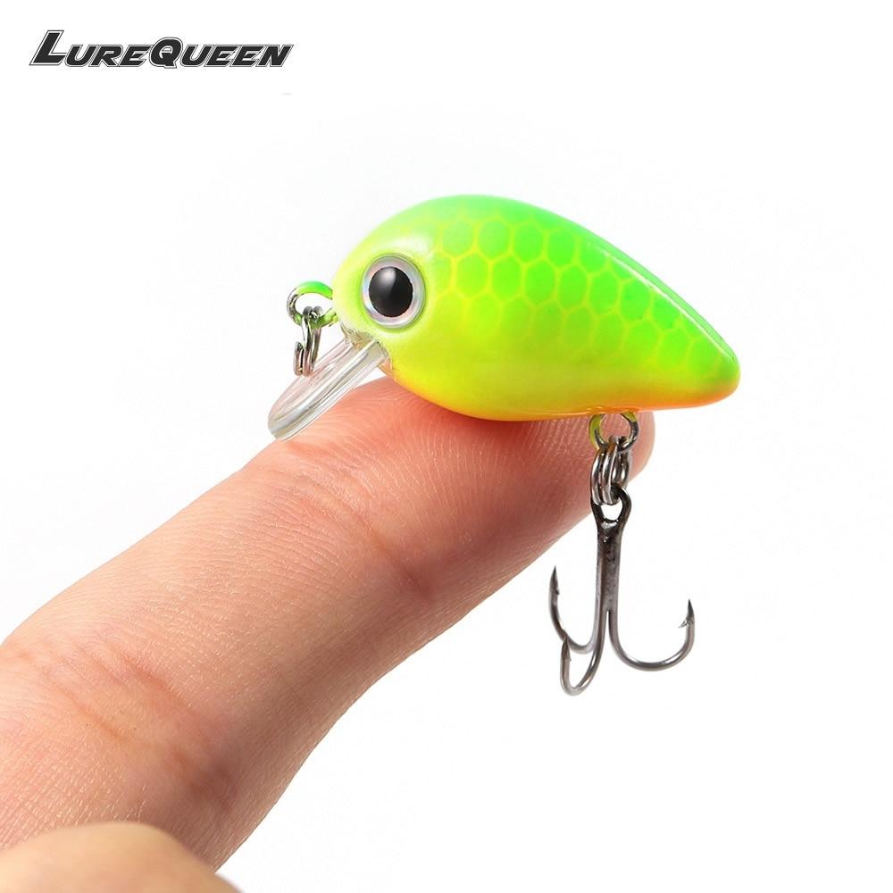 2.2cm 1.4g Fishing Lure Mini Crankbaits 1pcs Micro Hard Pesca Artificial Baits Lure Minnow for Pike Bass Trout Peche Pesca стоимость