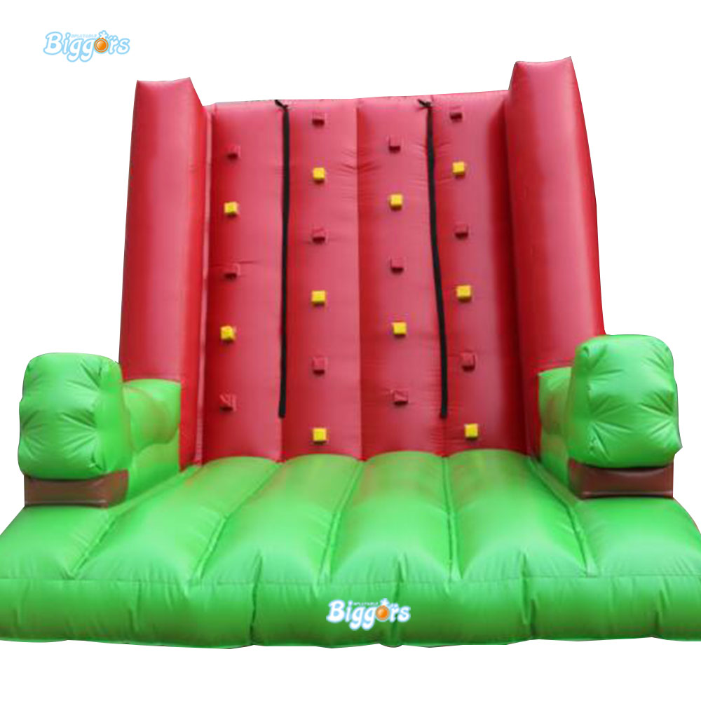 Inflatable Biggors China Supplier Inflatable Climbing Wall With Safety Belt For Sale inflatable biggors high quality inflatable climbing town kids toy climbing wall games for rental