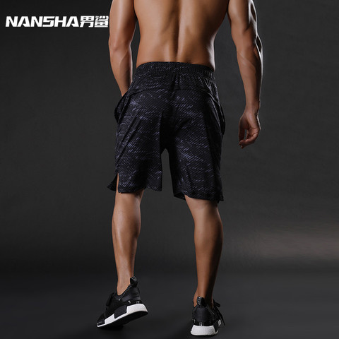 NANSHA Brand Mens Compression Shorts Summer Python Bermuda Shorts Gyms Fitness Men  Bodybuilding Tights Camo Shorts Karachi