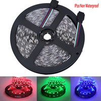 50M 5050 DC12V RGB Waterproof No Waterproof 60LED/M Red Blue Green Yellow Christmas Decoration Light LED Lighting Diode Tape Fit