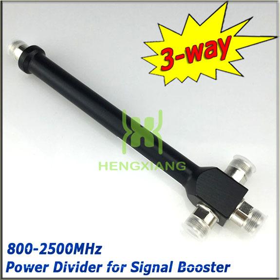N para mujer 3 Way divisor de la energía cavidad divisor de potencia 800 - 2500 mhz para 2 G 3 G 4 G GSM W-CDMA teléfono móvil amplificador de señal del repetidor
