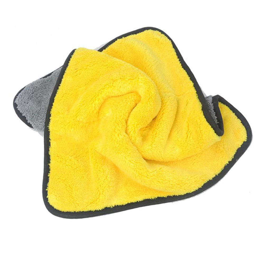 4 Size Super Absorbent Car Wash Cloth Microfiber Towel Cleaning Drying Cloths Rag Detailing Car Towel Car Care Polishing 21