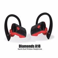 New!!1 4 ear caps Sport True Wireless Stereo Bluetooth Earphones Bluetooth Headset Handsfree Stereo Earphones Ear hook Earphone