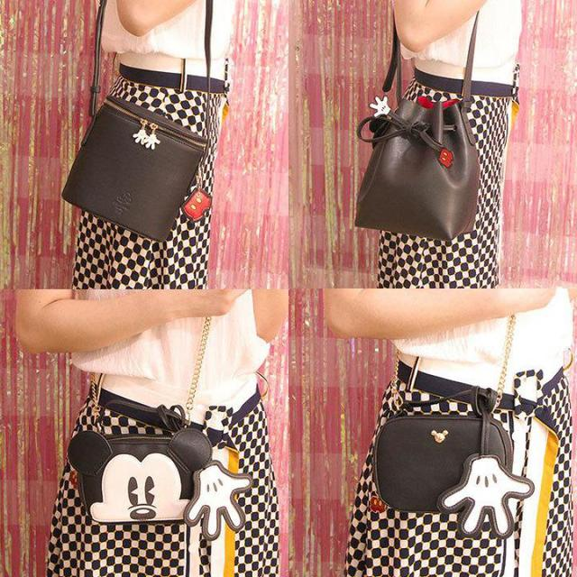 Hot Cute Mickey mouse Toy Backpack Kawaii Animals Bag Handbags Bagpack Purse For Girls Children Women Birthday Gifts