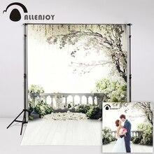 300x200cm (6.5ftx10ft) Flowers Photo Background trees garden loft wedding Photography backdrops Studio For Interior Photos