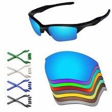 PapaViva Yedek Lensler ve Kauçuk Kiti Otantik Yarım Ceket 2.0 XL güneş gözlüğü çerçevesi Çoklu Seçenekler