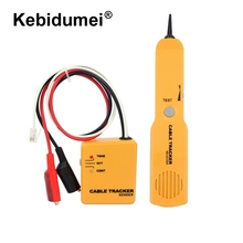 Portabl RJ11 Network Phone Telephone Cable Tester Toner Wire Tracker Tracer Diagnose Tone Line Finder Detector Networking Tools