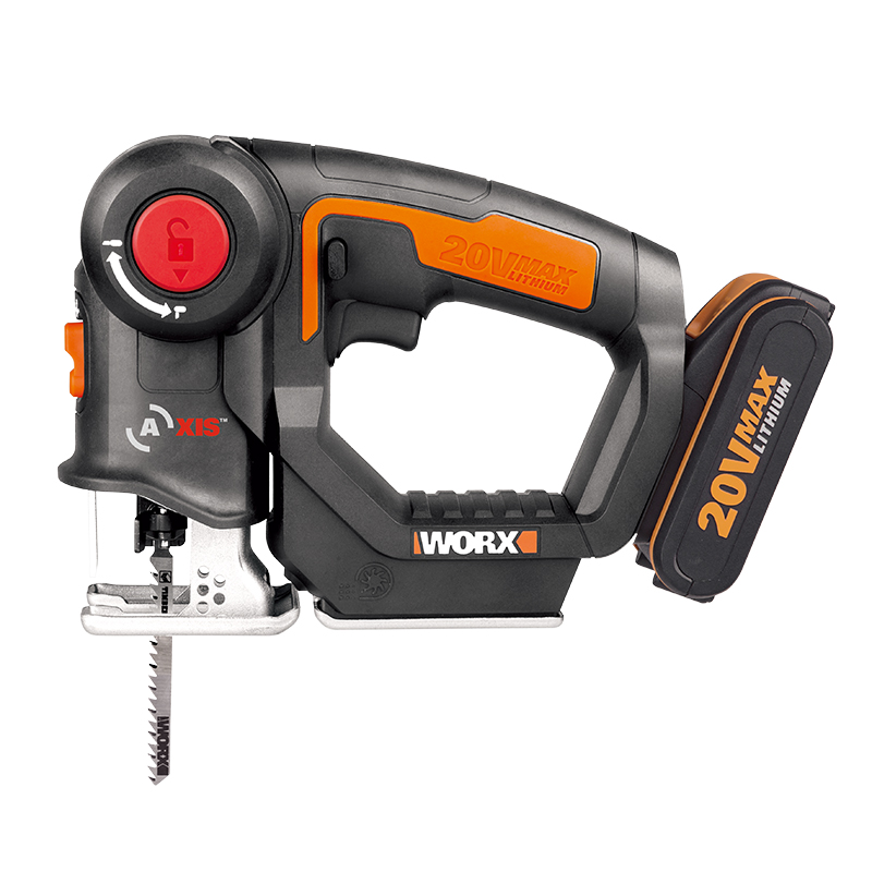 New Arrival WX550 Rechargeable 20V Li Ion Battery Power Tools Cordless Electric Saws Reciprocating Saws and Jigsaws