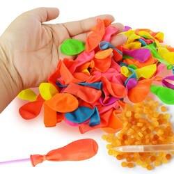 120 шт. воздушный шар латекса и 120 шт. резиновые шарики с водой пляжные игрушки многоцветный надувной мяч летняя уличная игрушки для детей
