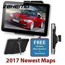 Vehemo GPS Navigator GPS Navigation 800MHZ TFT Touch Screen 7 Inches Premium Multimedia Player Music Game FM