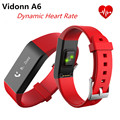 Vidonn A6 Smart Wristband Bracelet IP68 Waterproof Watches OLED Smartband Bluetooth 4.0 with Real-time Heart Rate Track