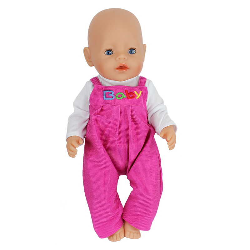 Doll-Jump-Suits-Fit-For-43cm-Baby-Born-Zapf-Doll-Reborn-Baby-Clothes-5