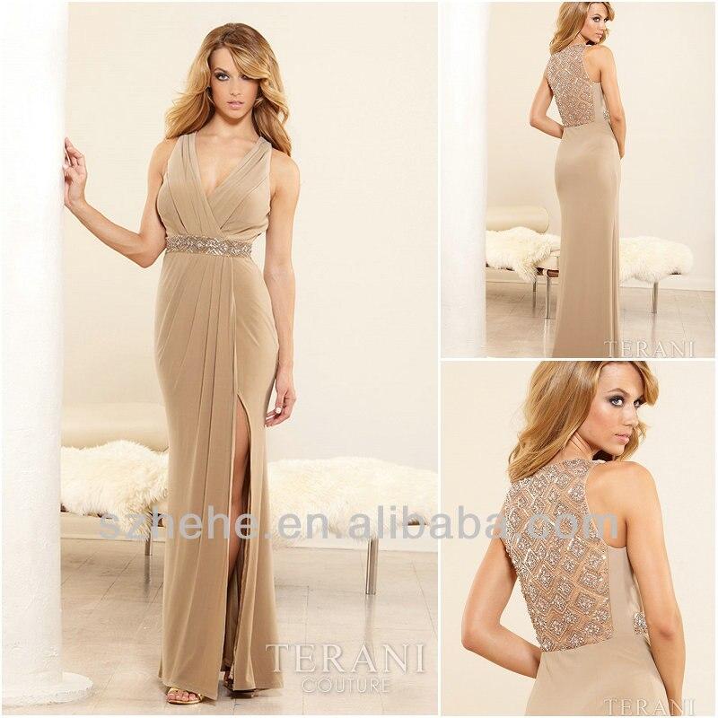 Tan Formal Dresses_Formal Dresses_dressesss