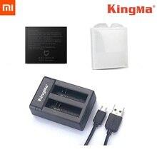 KingMa Original double chargeur Batteies étui de charge batterie dorigine Mijia pour Xiaomi Mijia Mini 4K accessoires de caméra daction