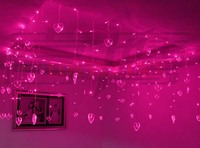 LED String Strip Wedding Christmas Lights Curtain Party Decoration Lamps R B P W RGB Y