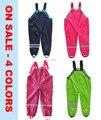 Бесплатная доставка - розничная Topolino мальчики девочки водонепроницаемый, Ветрозащитный комбинезон, Водонепроницаемый брюки, Размер от 98 до 128 ( MOQ : 1 шт. )