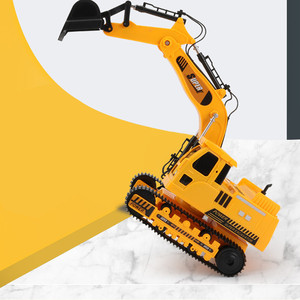 Image 4 - 2.4GHz 12CH 1:18 RC Car Drift Alloy Excavator  Kids Adults Remote Control Toy Car