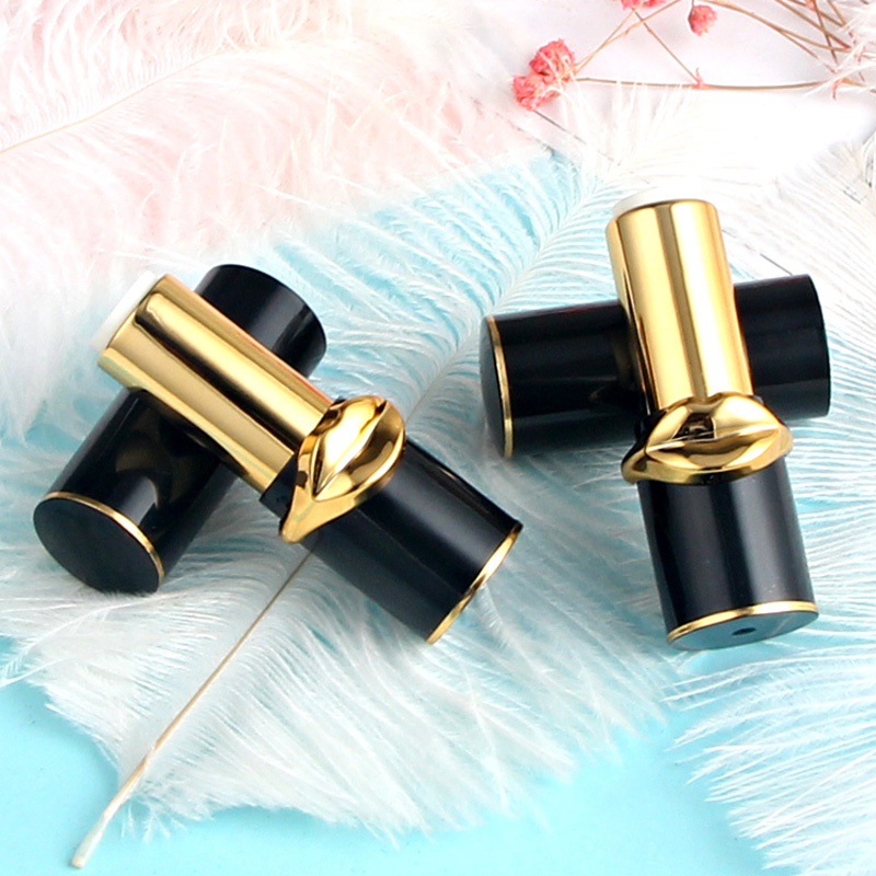 12.1mm New Black Empty Lipstick Tube Makeup Packaging ...