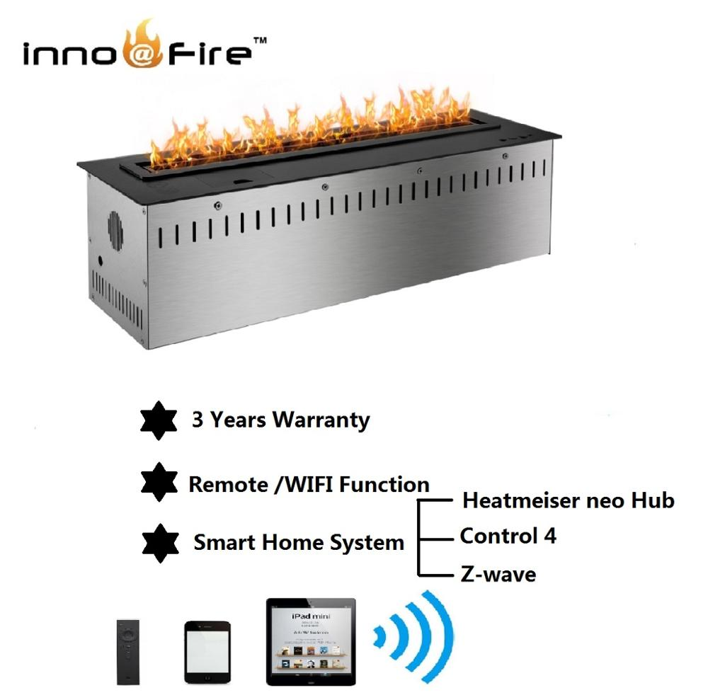 Inno Living Fire 60 Inch  150cm Ethanol Heating For Wall Insert Smart Control