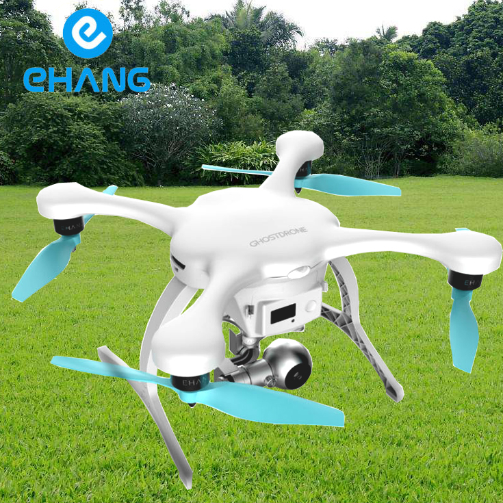 Original Ehang GHOSTDRONE 2.0 VR Quadcopter drone  With 4K HD Sports Camera For Photographer 4 RC Helicopter  free shipping DHL