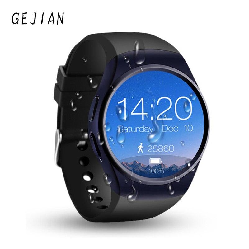 Mens สมาร์ทนาฬิกา Pedometer Fitness Tracker Heart rate ความดันโลหิตสตรีกีฬากันน้ำบลูทูธสำหรับ iOS Android-ใน นาฬิกาข้อมือดิจิตอล จาก นาฬิกาข้อมือ บน   1