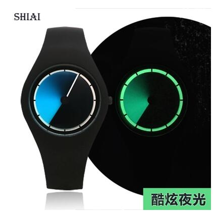Creative concept watch personality student male and female couple sports luminous waterproof cool Korean version of fashionable  casio watch sweet fashion sports female student watch lx 500h 1b 1e 4e 7b2