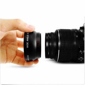 Image 4 - 0.45X Süper Geniş Açı Lens Makro ve Lens hood kiti Sony DSC HX350 DSC HX300 DSC H400 HX350 HX300 H400