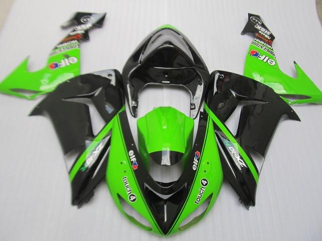 Aftermarket Body Parts Fairing Kit For Kawasaki Ninja Zx10r 06 07