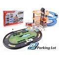 Новые детские игрушки электрический вагонов автостоянка Три Слоя автомобиля модель игрушки классические juguetes educativos мальчики подарок на день рождения