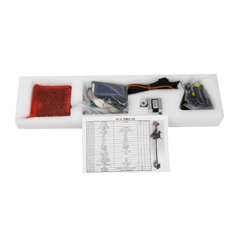 CR 10 S-Double Z Mise À Niveau Kit 2 Plomb Vis 3D Kit imprimante avec Filament Surveillance D'alarme Protection @ JH