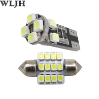 6x Led Festoon 31mm DE3175 T10 W5W Light For Map Dome Licence Plate Light Package Kit