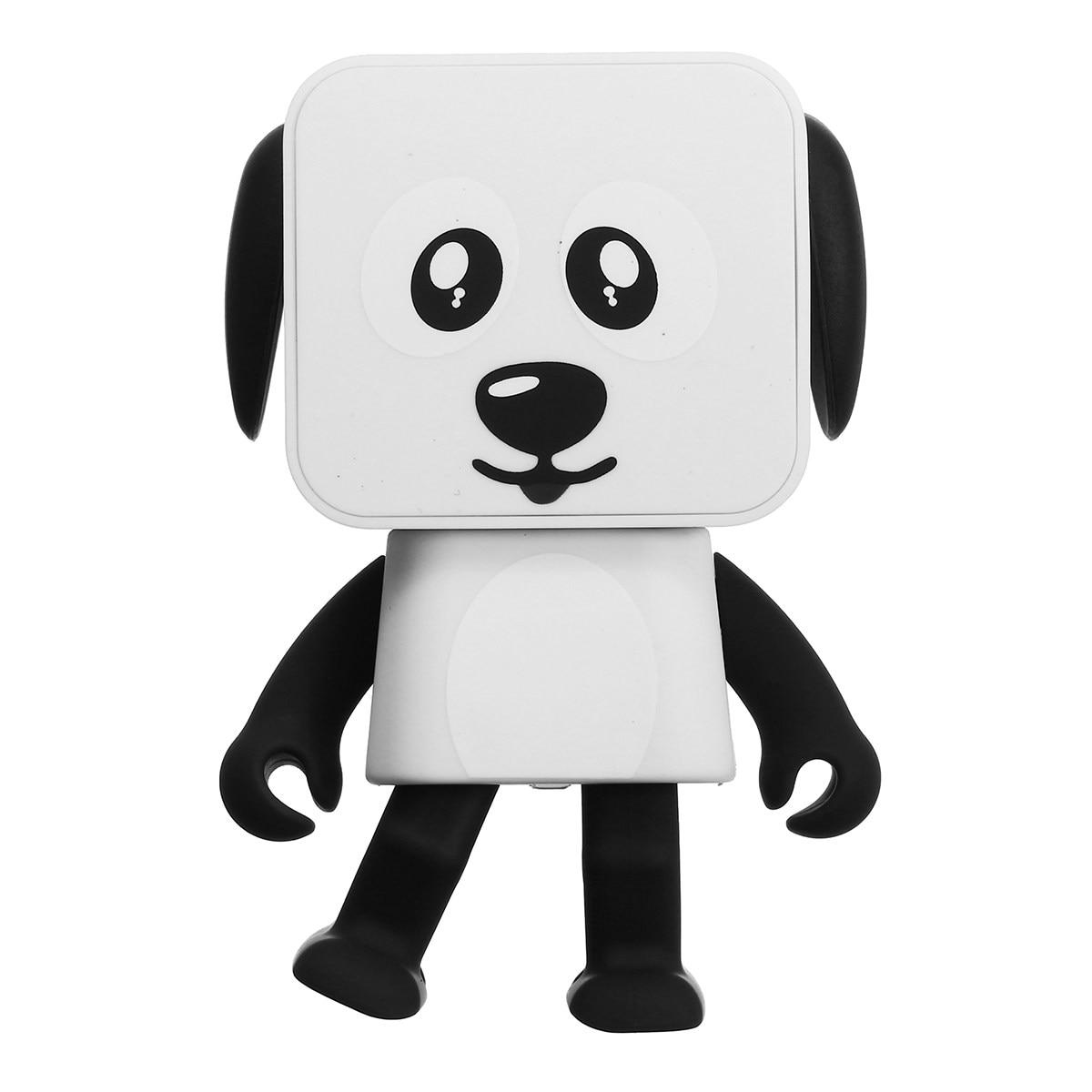 Portable Wireless Bluetooth Music Box Dancing Robot Speaker Stereo Loudspeaker For Phone/PC/MP3/Macbooks Cute Gift For Children
