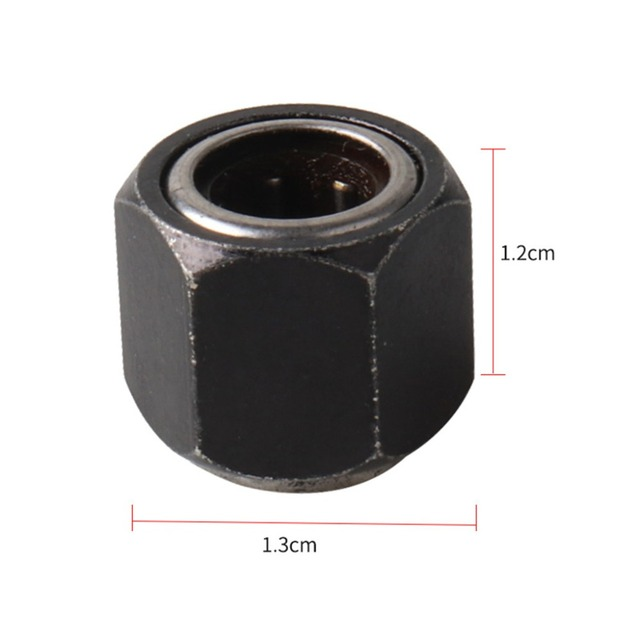 HSP RC Car R025 Hex 12mm Nut One-way Bearing Parts For 1/10 1/8 Scale Models Baja Remote Control Cars 94122 94188