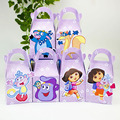 Dora  Favor Box Candy Box Gift Box Cupcake Box Boy Kids Birthday Party Supplies Decoration Event Party Supplies