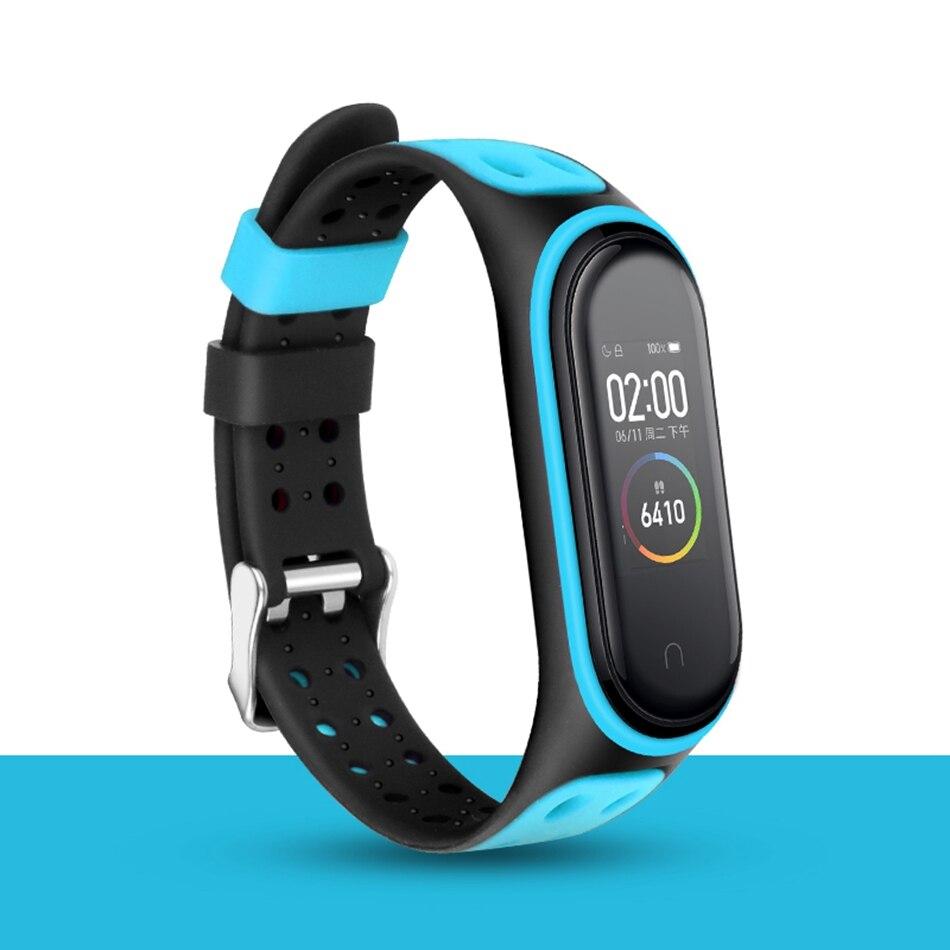 Clear Mi Band 4 3 Strap Wrist Strap For Xiaomi Mi Band 3 4 Bracelet Silicone Miband 3 4 NFC Accessories Smart Mi band4 Correa 2