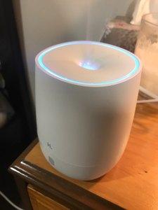 Image 5 - Youpin hl portátil usb mini difusor de aromaterapia ar umidificador silencioso aroma névoa maker 7 cor luz escritório em casa