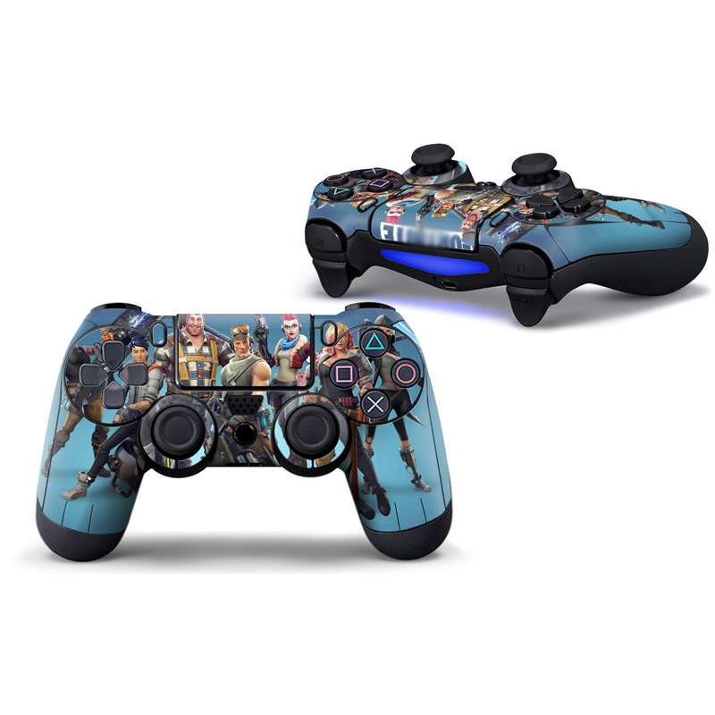 2PCS Sticker Case Protector For Sony PS4 Controller Skins Cover For Playstation 4 Gamepad Joystick Decal Vinyl(China)