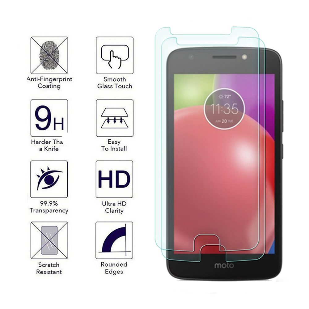 Til Motorola Moto E4 E4 Plus 4. gen 0,3 mm 2,5D 9H klar premium - Mobiltelefon tilbehør og reparation dele