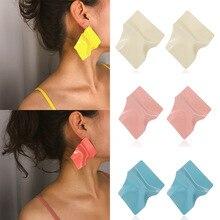 купить Fashion Earrings For Women metal earrings female Irregular geometric square earrings Charming boucles d'oreilles pour les femmes по цене 143.29 рублей
