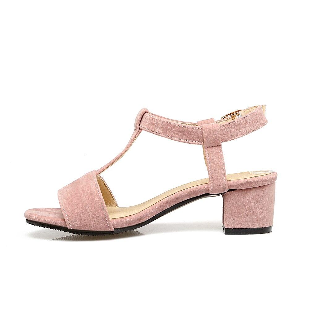 Black dress sandals medium heel - Plus Size 48 Brand Designer Women Sandals 2017 T Strap Fashion Flip Flop Summer Shoes