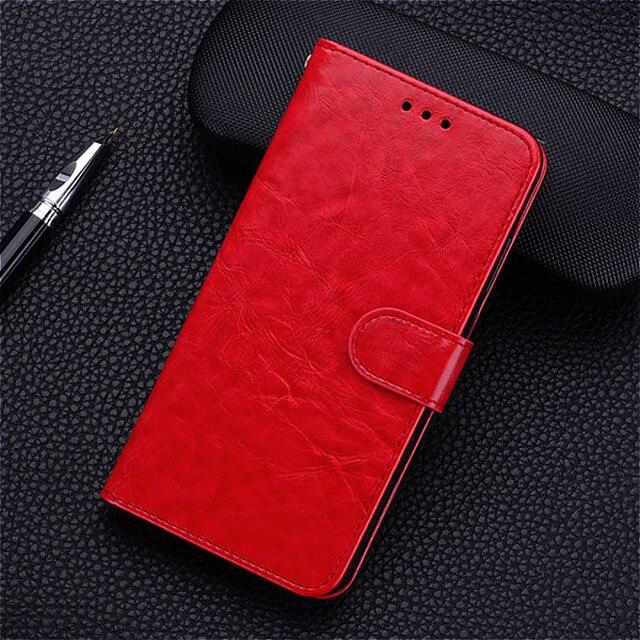 Caso di Caso di vibrazione Per Xiaomi Redmi 7A Redmi7a Della Copertura Molle di TPU Posteriore di Caso di Vibrazione del Cuoio Della Copertura Del Raccoglitore Per Xiomi Xiaomi redmi 7A A7 Caso