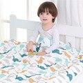 Детское одеяло  муслиновое Хлопковое одеяло  утепленное одеяло  спальное постельное белье для новорожденных  детское зимнее Пеленальное Од...
