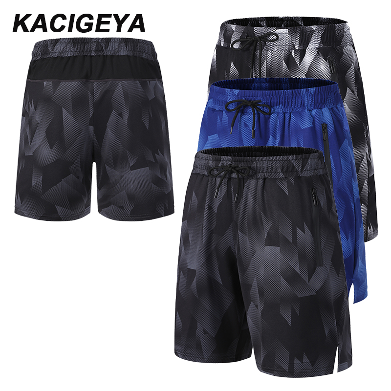 Quick Dry Shorts Men Casual Workout Sport Beach Shorts For Fitness Board Basketball Soccer Exercise Yoga Running Shorts Jogger