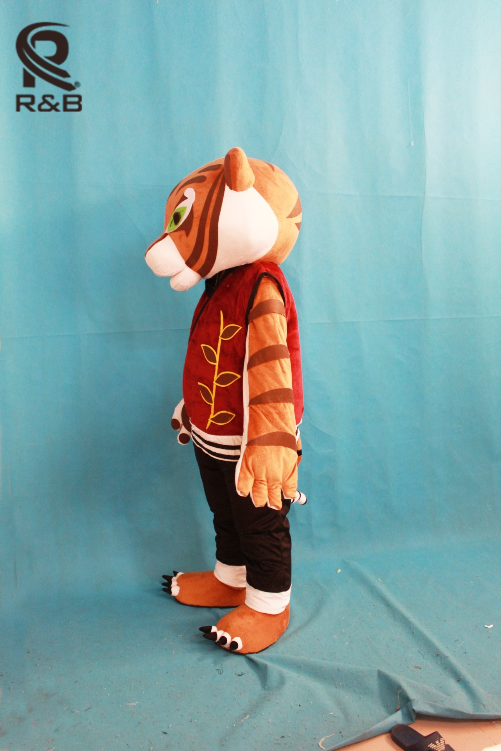 aliexpresscom buy high quality tigress tiger mascot costume kung fu panda cartoon mascot adult costume halloween carnival party costume from reliable - Tigress Halloween Costume