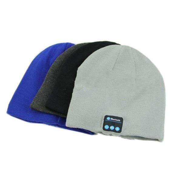 2017 New Soft Warm Beanie Hat Wireless Bluetooth Smart Cap Headset Headphone Speaker Mic Bluetooth Hat
