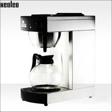 Xeoleo Commerical Coffee maker Coffee machine Full-Automatic American Coffee machine For Cafe with 1.8L Coffee Pot and hot plate