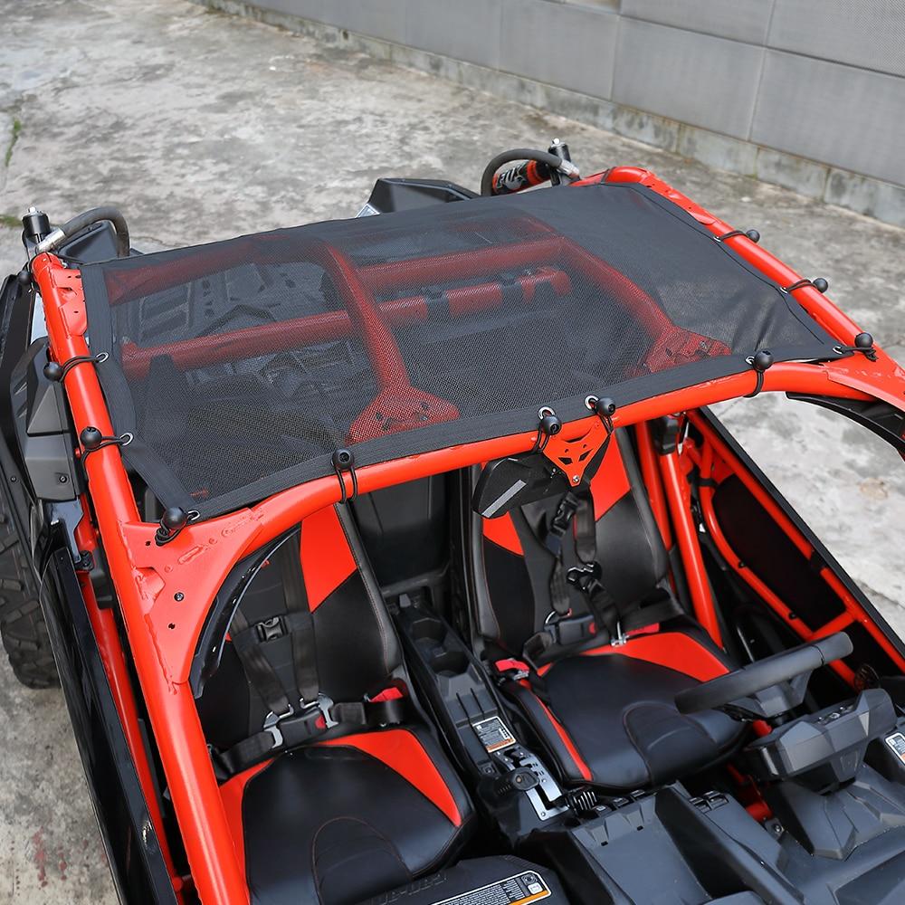UTV Soft Sun Roof Net Top For Can Am Maverick X3 XDS XRS Turbo R Models 2 Seater 2016-2019 2017 2018