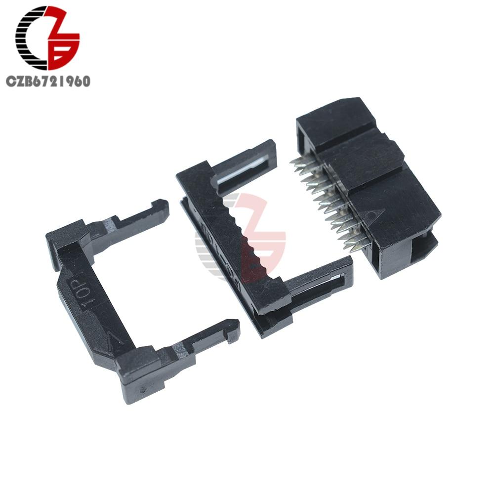 10pcs-254mm-pitch-2x5-pin-10-pin-idc-female-header-socket-connector-fc-10